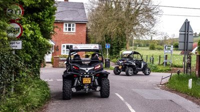 SWP_Stonehenge-ATV - Leaving the offices and heading to Salisbury Plain.