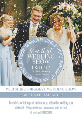 Simon Ward Photography at the Love That Wedding Show - Sunday 8th October 2017