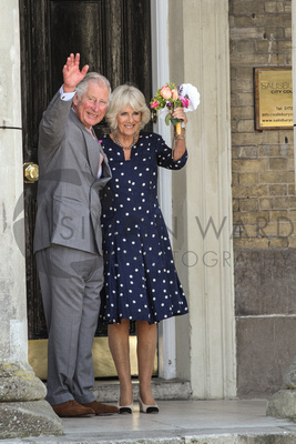 Prince Charles and the Duchess of Cornwall visit Salisbury on Friday 22nd June 2018