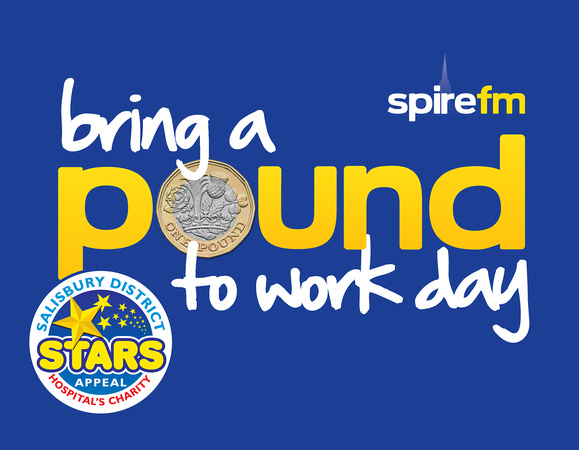 Spire FM's Bring A Pound To Work Day supporting the Stars Appeal at Salisbury District Hospital