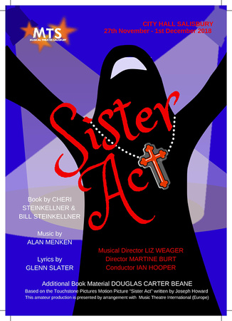 Win Tickets to see Sister Act by Musical Theatre Salisbury at City Hall