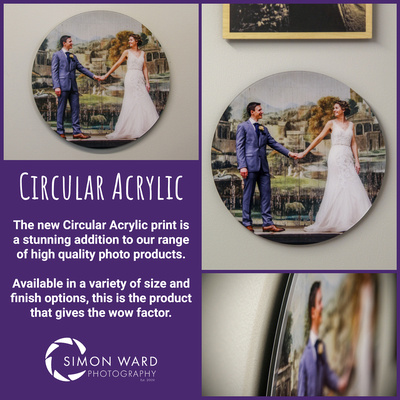 The new Circular Acrylic Wall Print from Simon Ward Photography