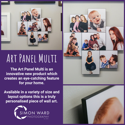 The new Art Panel Multi Print from Simon Ward Photography