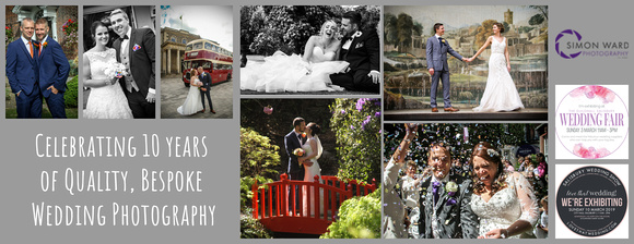 Salisbury Wedding Photographer Simon Ward is exhibiting at the Guildhall Salisbury Wedding Fair - Sunday 3rd March 2019 and Love That Wedding Show - Sunday 10th March 2019