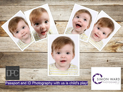 Passport Photographs by Simon Ward Photography