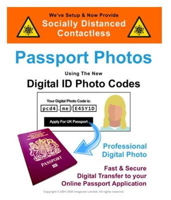 Digital Passport Photo Salisbury