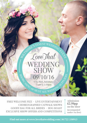 Simon Ward Photography at the Love That Wedding Show, City Hall Salisbury - Sunday 9th October 2016