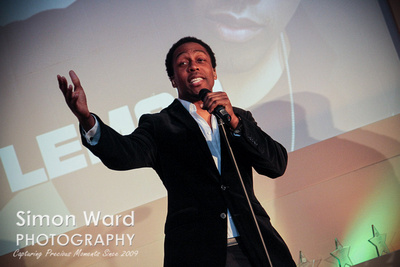 Lemar at Spirit FM Local Hero Awards 2015