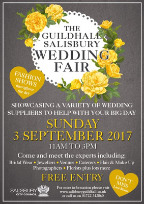 Simon Ward Photography at the Guildhall, Salisbury Wedding Fair - Sunday 3rd September 2017