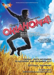 Musical Theatre Salisbury's production of Oklahoma at City Hall Salisbury