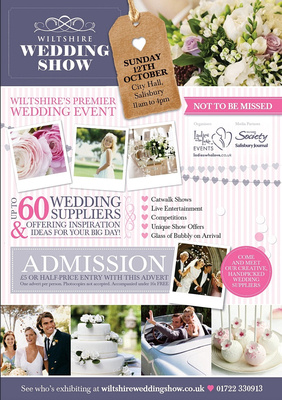 Wiltshire Wedding Show - Sunday 12th October