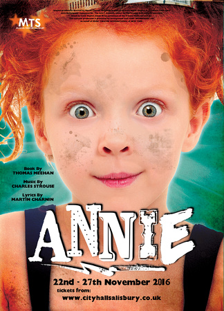 Musical Theatre Salisbury's production of Annie at City Hall Salisbury
