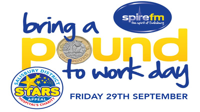 Spire FM's Bring A Pound To Work Day supporting the Stars Appeal.
