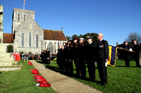 REMEMBRANCE SUNDAY, AMESBURY - 09.11.14