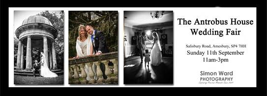 Simon Ward Photography at the Antrobus House Wedding Fair - Sunday 11th September 2016