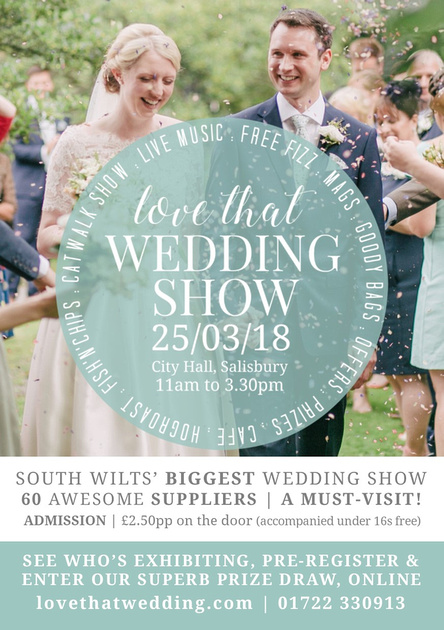 Salisbury based wedding photographer Simon Ward Photography at the Love That Wedding Show at City Hall, Salisbury - 25th March 2018
