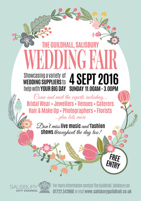 Simon Ward Photography at the Guildhall, SalisburyWedding Fair - Sunday 4th September 2016